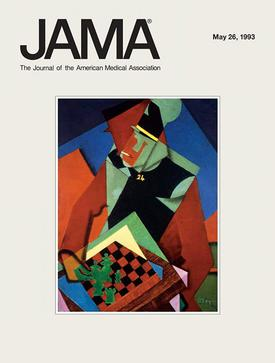 JAMA,_The_Journal_of_the_American_Medical_Association,_May_26,_1993,_cover,_Jean_Metzinger,_Soldier_at_a_Game_of_Chess